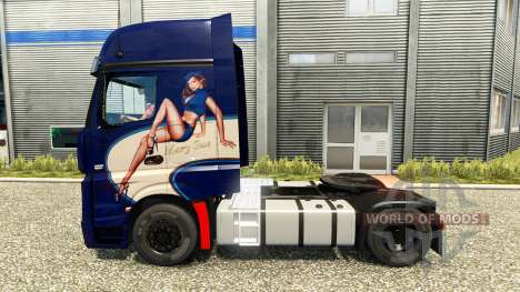 Mercedes-Benz Actros MP4 [Mary Sue Edition] for Euro Truck Simulator 2
