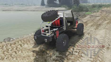 Jeep Wrangler JK8 Crawler [23.10.15] for Spin Tires