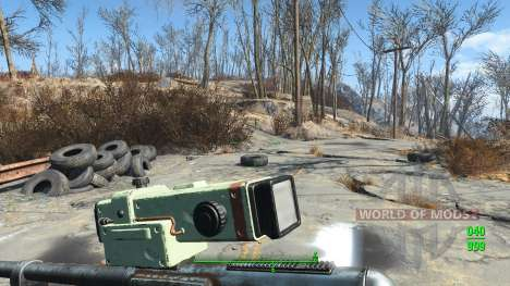 Lowered Weapons for Fallout 4