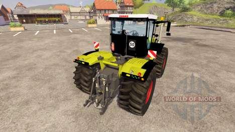 CLAAS Xerion 5000 Trac VC v2.1 for Farming Simulator 2013