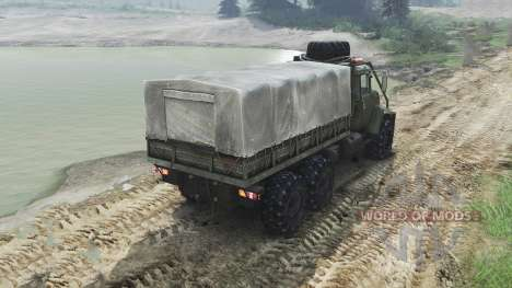 The KrAZ B18.1 [23.10.15] for Spin Tires