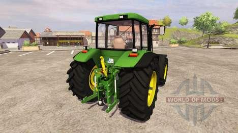 John Deere 7710 v2.3 for Farming Simulator 2013