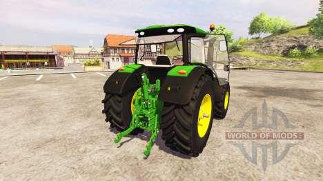 John Deere 6210R v2.6 for Farming Simulator 2013
