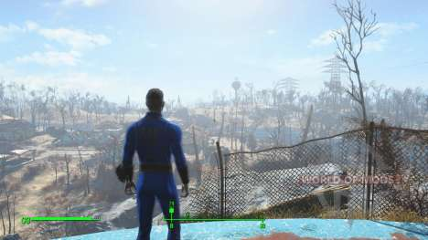Save before leaving the vault for Fallout 4