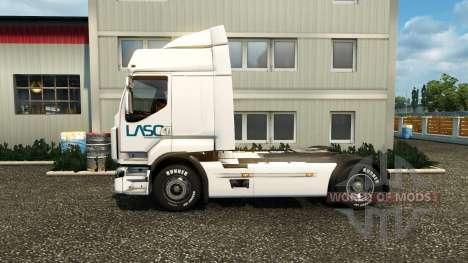 Skin LASO for Renault tractor unit for Euro Truck Simulator 2