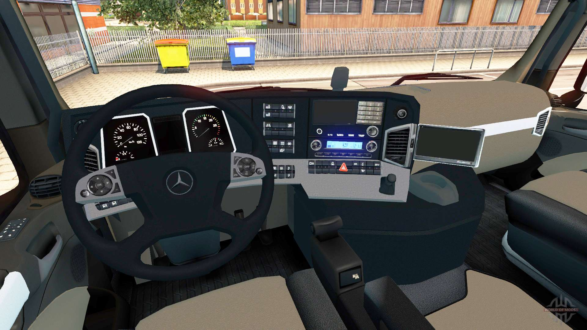 Mercedes Benz Actros Mp4 For Euro Truck Simulator 2