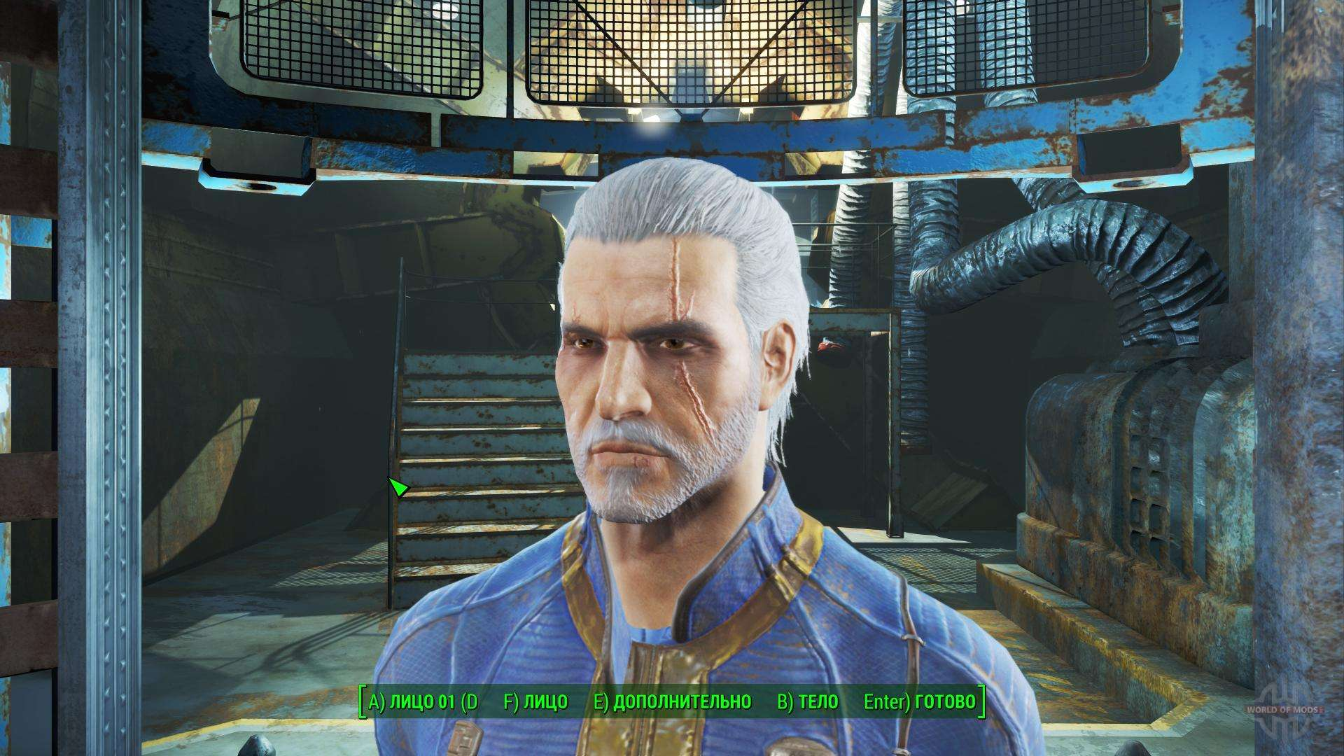 Geralt of Rivia for Fallout 4 Fallout 4 Mods