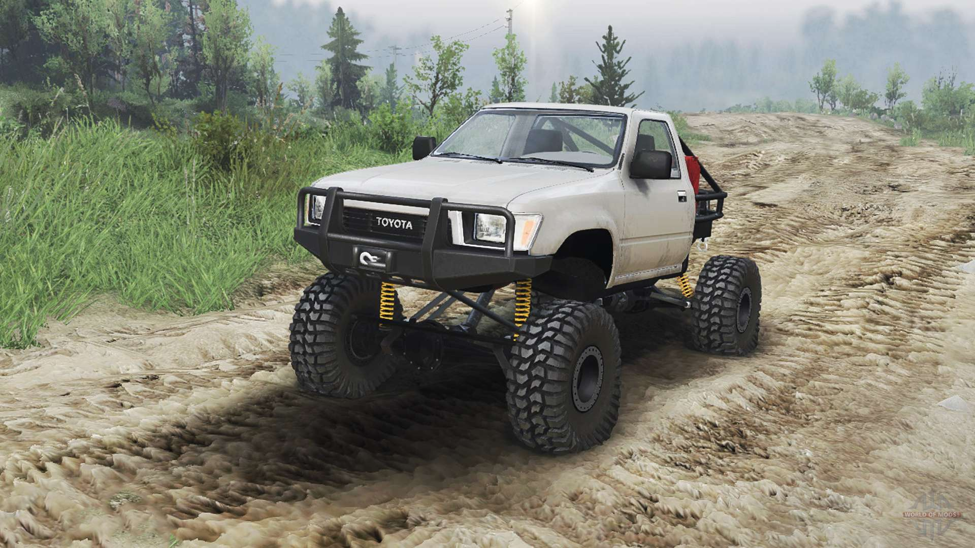 Toyota Hilux Truggy 1990 23 10 15 For Spin Tires