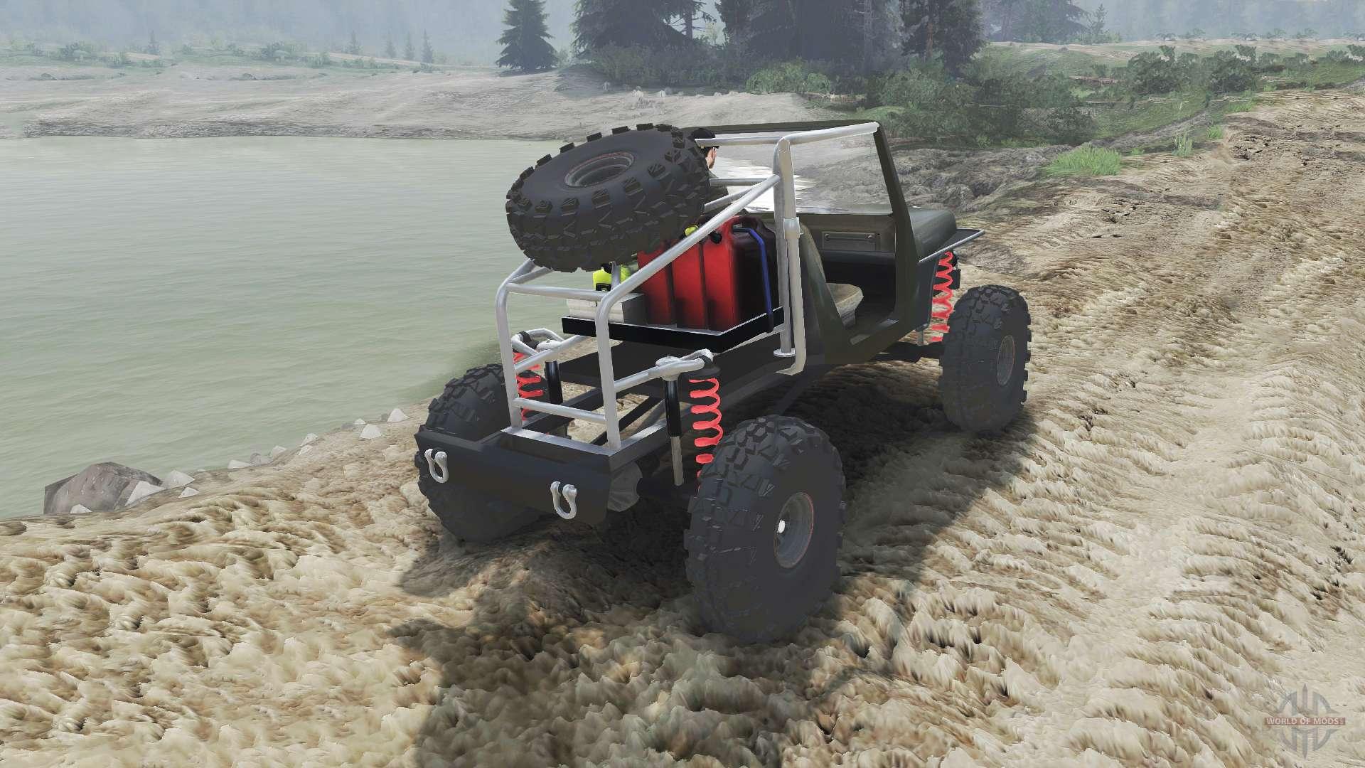 wrangler jk8 crawler [23.10.15] for spin tires