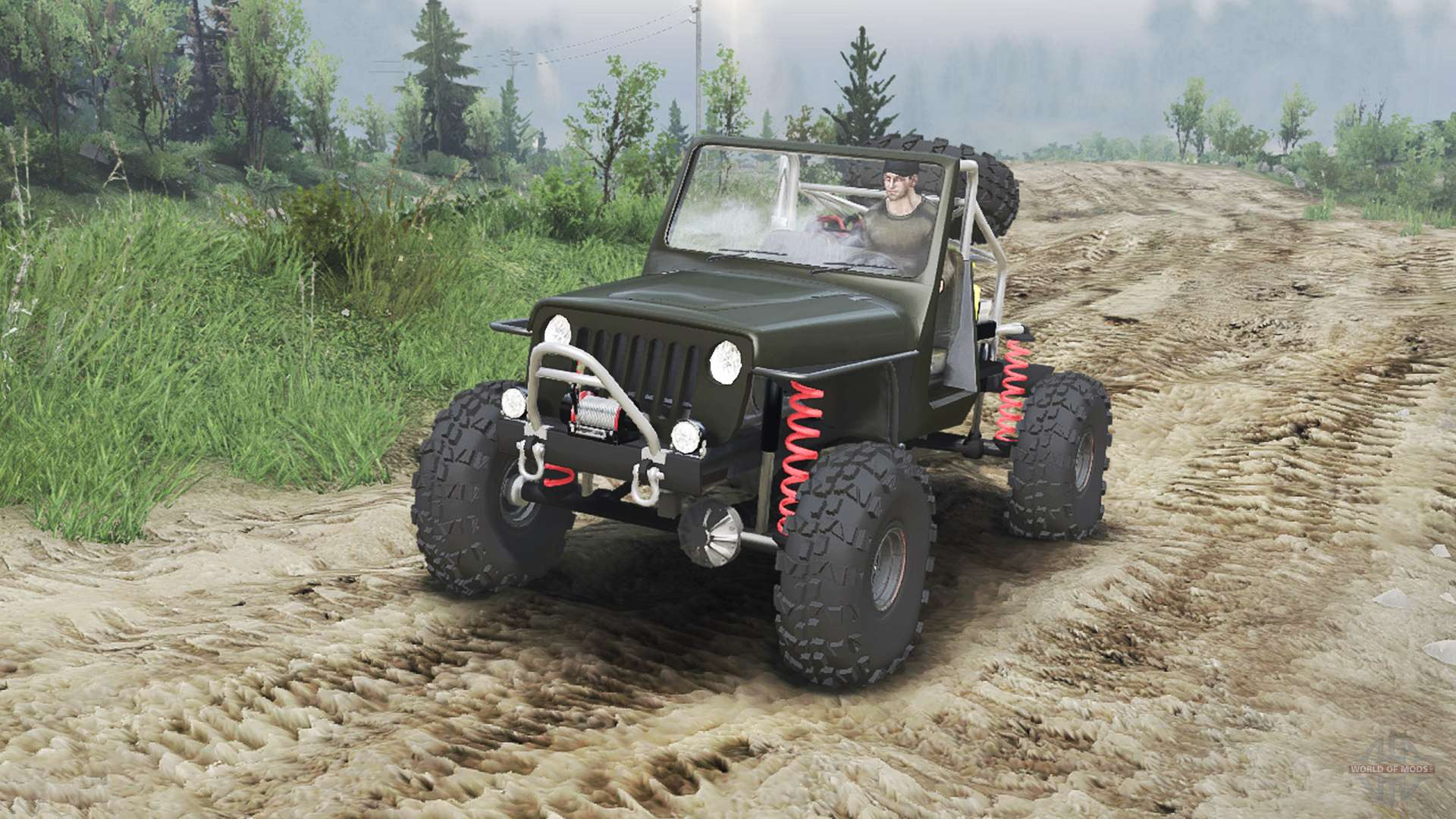 Jeep Wrangler JK8 Crawler 23 10 15 for Spin Tires