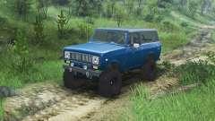 International Scout II 1977 [bimini blue poly]