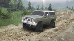 Chevrolet K5 Blazer 1975 [army green] [23.10.15]