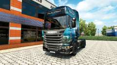 Black Pearl skin for Scania truck for Euro Truck Simulator 2