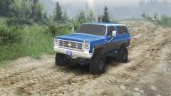 Chevrolet K5 Blazer 1975 [blue and black]
