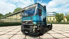 Black Pearl skin for Volvo truck