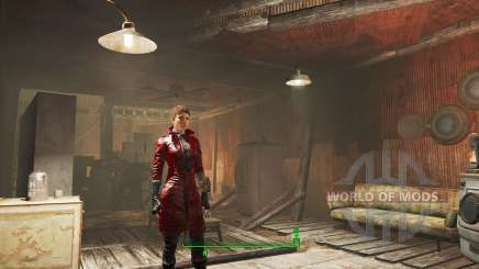 Improved Piper's coat  for Fallout 4