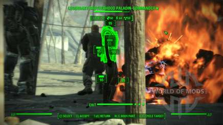 Accuracy in V. A. T. S. for Fallout 4