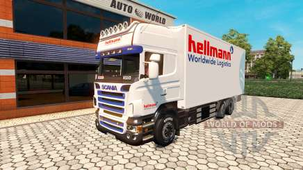 Scania R500 BDF Hellmann for Euro Truck Simulator 2