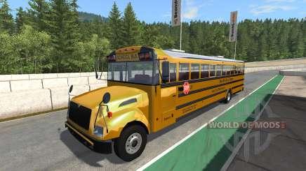 Blue Bird American School Bus v2.1 for BeamNG Drive