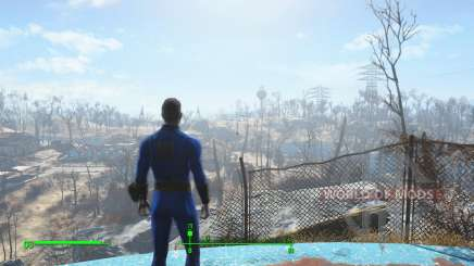 Save before leaving the vault 111 for Fallout 4