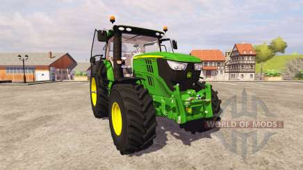 John Deere 6210R v2.6 for Farming Simulator 2013