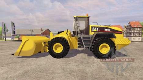 Caterpillar 966H v3.0 for Farming Simulator 2013