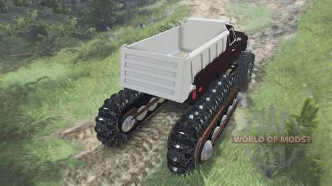 Half Track Prototype [08.11.15] for Spin Tires