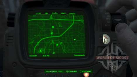Immersive Map 4k - BLUEPRINT Inv. - Full Squares for Fallout 4