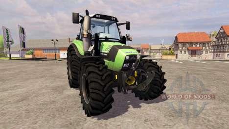 Deutz-Fahr Agrotron 430 TTV [frontloader] for Farming Simulator 2013