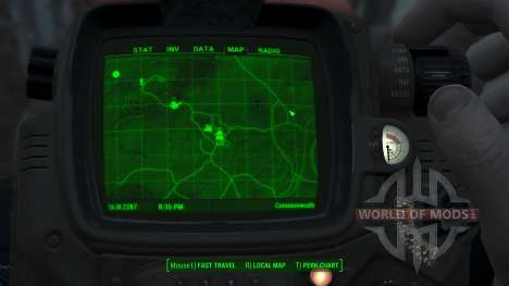 Immersive 4k Map - TERRAIN - Big Squares for Fallout 4