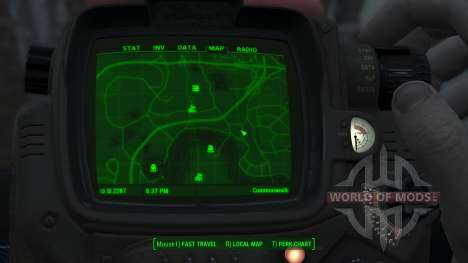 Immersive Map 4k - VANILLA - Big Squares for Fallout 4