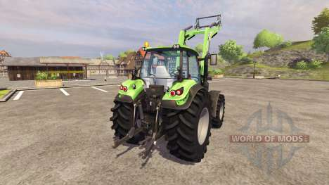 Deutz-Fahr Agrotron 6190 TTV v3.1 for Farming Simulator 2013