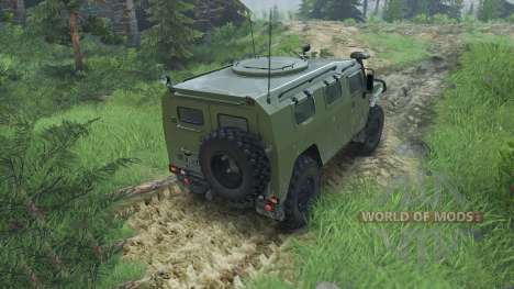 GAZ-2975 Tiger [08.11.15] for Spin Tires