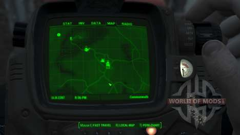 Immersive 4k Map - VANILLA - Full Squares for Fallout 4