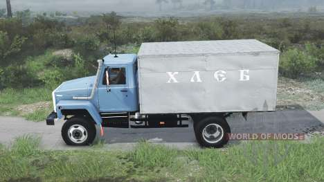 GAZ-3309 [08.11.15] for Spin Tires