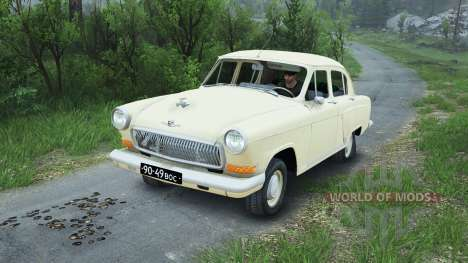 GAZ-21 [08.11.15] for Spin Tires