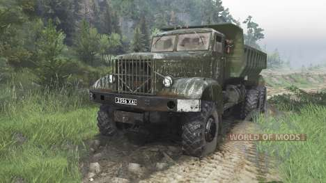 The KrAZ-214 [08.11.15] for Spin Tires