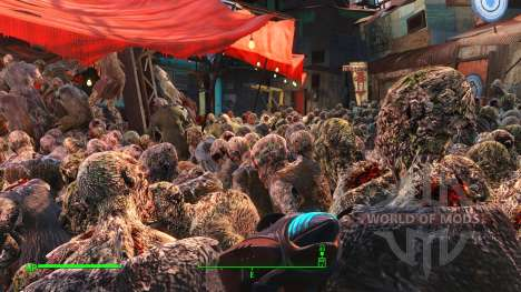 D. E. C. A. Y - Improved ghouls for Fallout 4