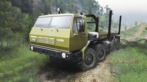 KrAZ-E Siberia [08.11.15] for Spin Tires