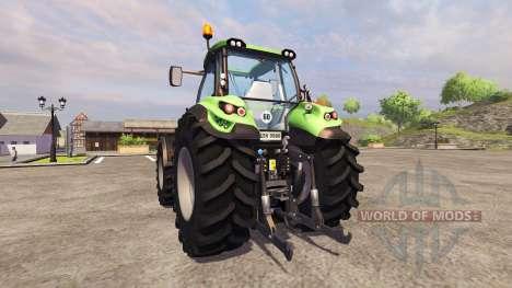 Deutz-Fahr Agrotron 7250 [PloughingSpec] v2.0 for Farming Simulator 2013