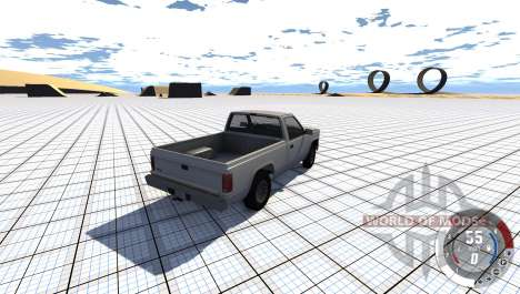Skateboard Arena for BeamNG Drive