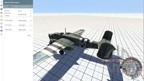 B-25 Mitchell v.1.01 for BeamNG Drive