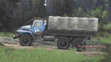 Ural-375 [blue] [08.11.15] for Spin Tires