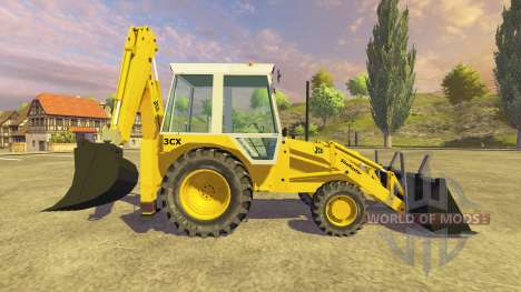 JCB 3CX v2.1 for Farming Simulator 2013
