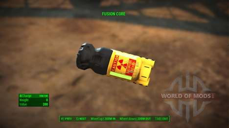 Fusion Core Retexture for Fallout 4