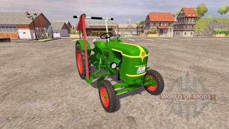 Deutz-Fahr D25 v2.0 for Farming Simulator 2013