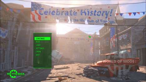 Time Lapse Main Menu Replacer for Fallout 4