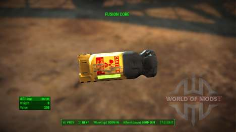 Fusion Core Retexture for Fallout 4