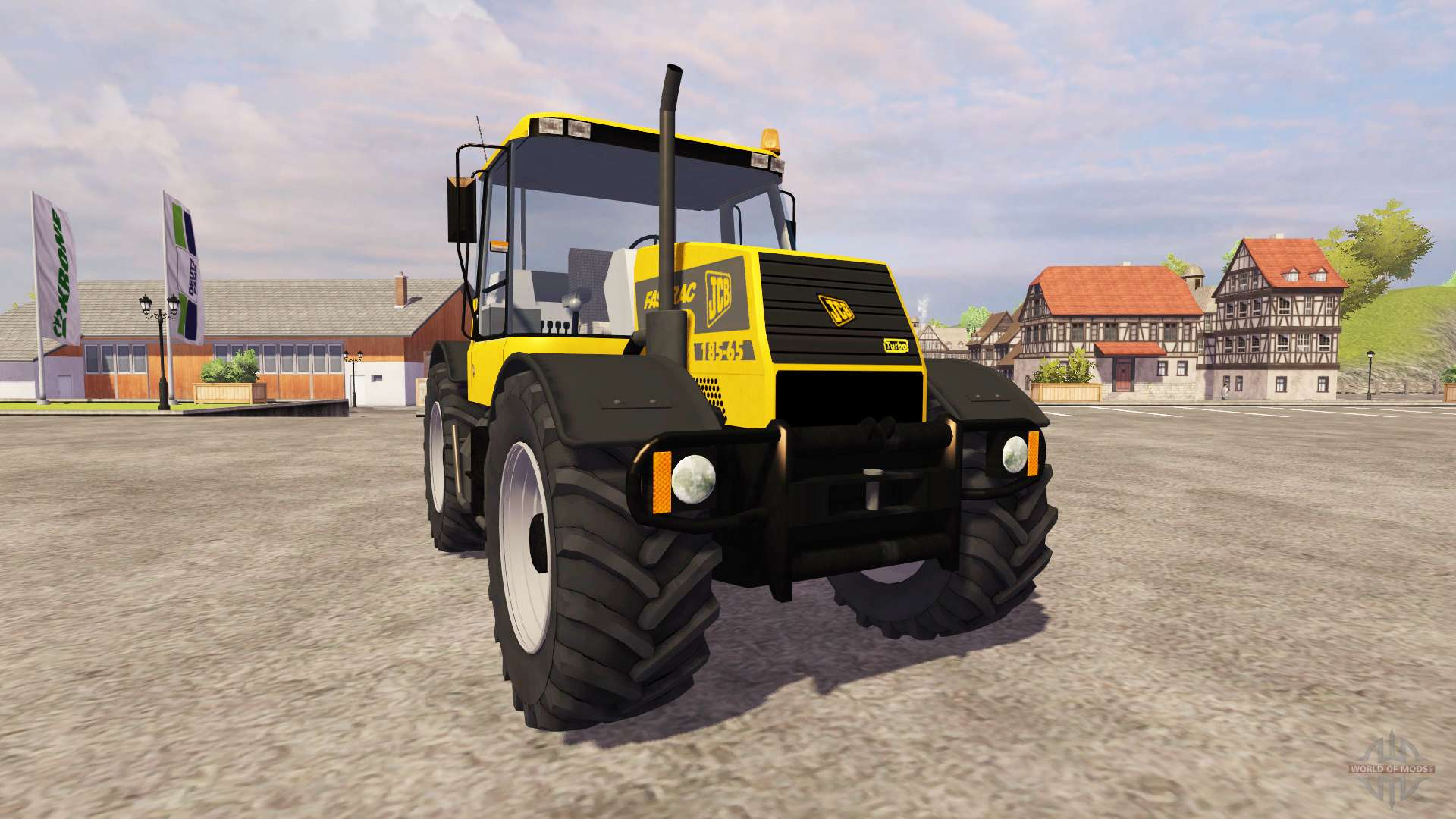 JCB Fastrac 185 65 V12 For Farming Simulator 2013