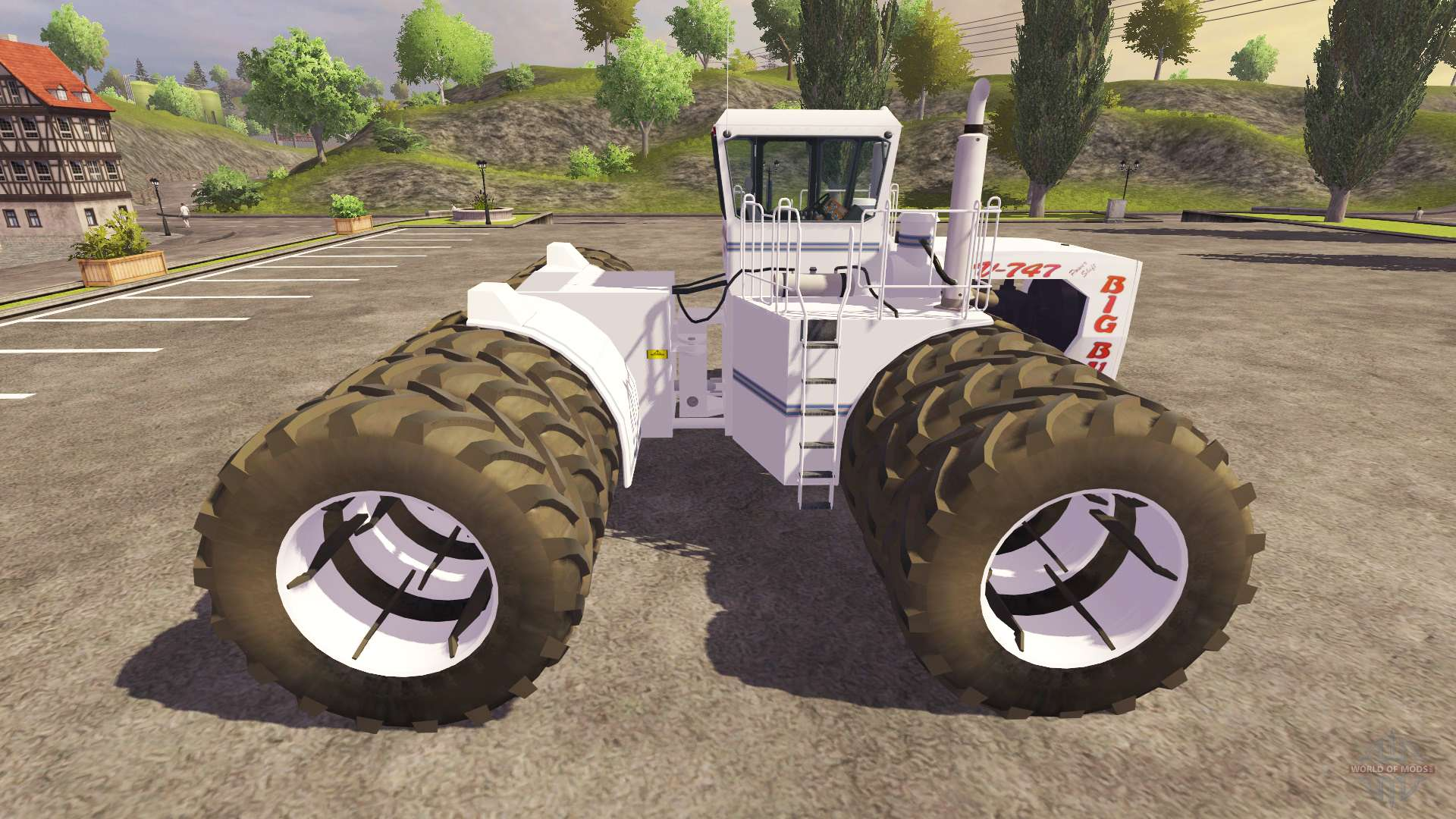 Big Bud 747 >> Big Bud-747 for Farming Simulator 2013